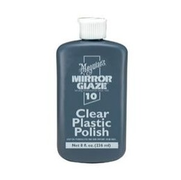 CLEAR PLASTIC POLISH
